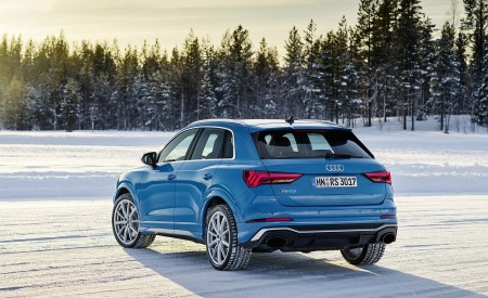 2020 Audi RS Q3 (Color: Turbo Blue) Rear Three-Quarter Wallpapers 450x275 (48)