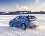 2020 Audi RS Q3 (Color: Turbo Blue) Rear Three-Quarter Wallpapers 150x120