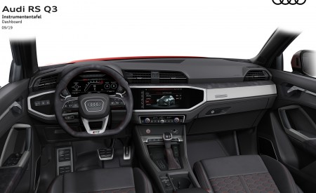 2020 Audi RS Q3 Dashboard Wallpapers 450x275 (105)