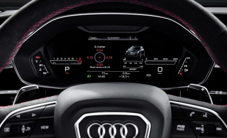 2020 Audi RS Q3 Digital Instrument Cluster Wallpapers 450x275 (92)
