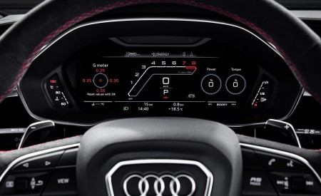 2020 Audi RS Q3 Digital Instrument Cluster Wallpapers 450x275 (91)