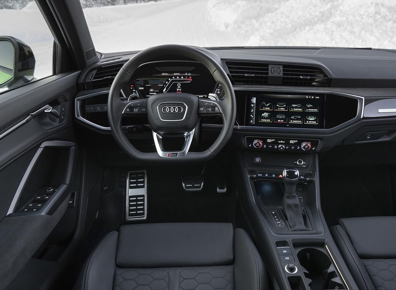 2020 Audi RS Q3 Interior Cockpit Wallpapers #40 of 116