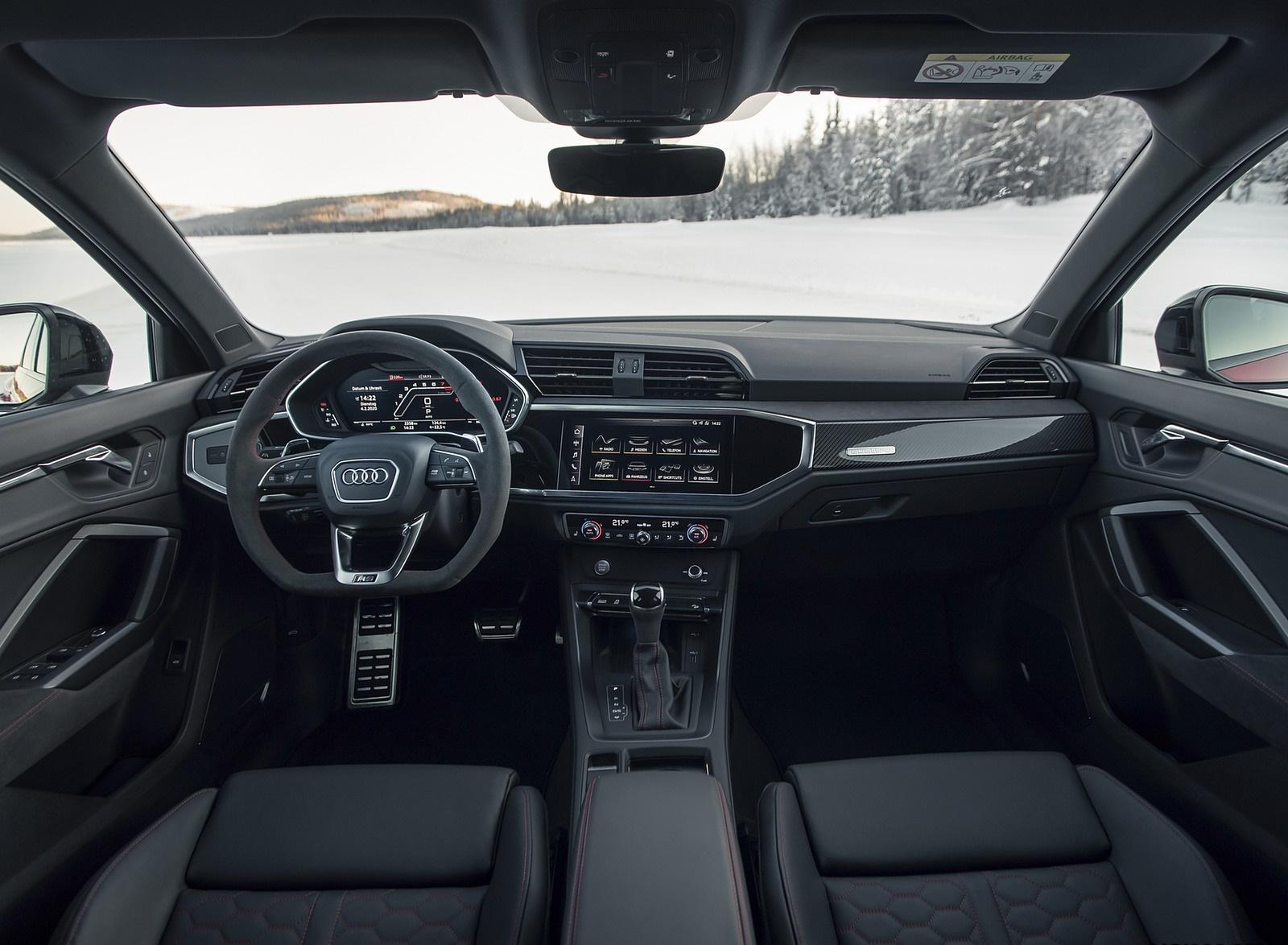 2020 Audi RS Q3 Interior Cockpit Wallpapers #23 of 116