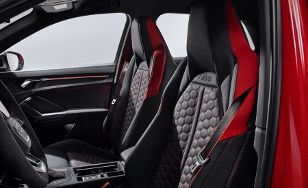2020 Audi RS Q3 Interior Front Seats Wallpapers 450x275 (84)