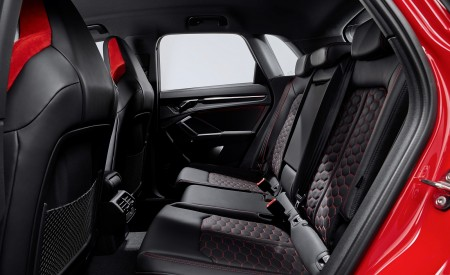 2020 Audi RS Q3 Interior Rear Seats Wallpapers 450x275 (83)