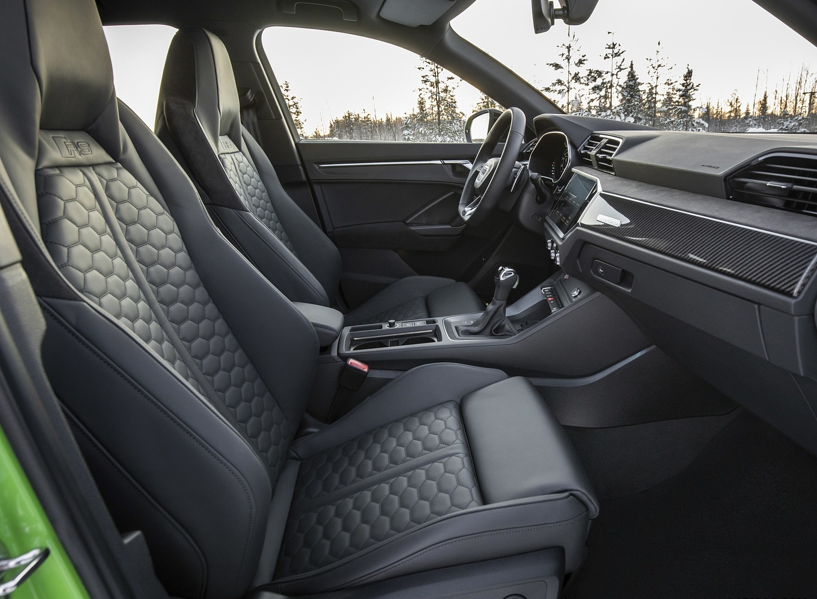 2020 Audi RS Q3 Interior Seats Wallpapers #39 of 116