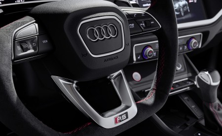 2020 Audi RS Q3 Interior Steering Wheel Wallpapers 450x275 (81)