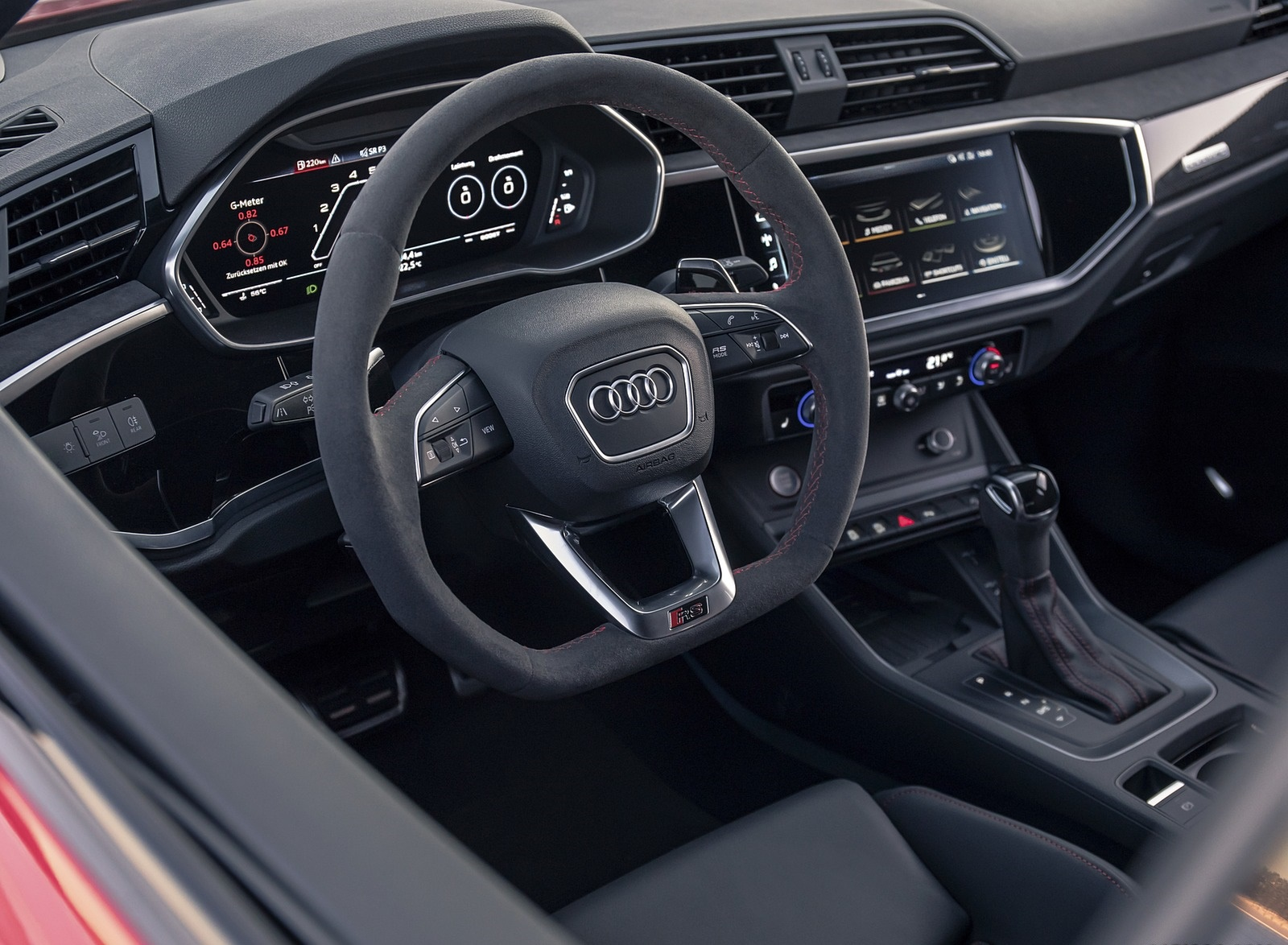2020 Audi RS Q3 Interior Wallpapers #41 of 116