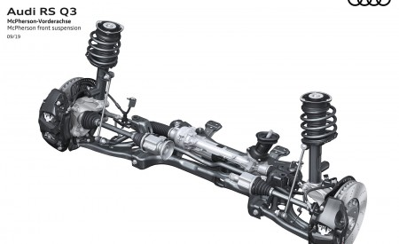 2020 Audi RS Q3 McPherson front suspension Wallpapers 450x275 (111)