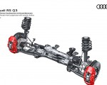 2020 Audi RS Q3 McPherson front suspension with ceramic brakes Wallpapers 150x120