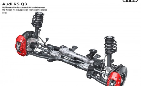 2020 Audi RS Q3 McPherson front suspension with ceramic brakes Wallpapers 450x275 (110)