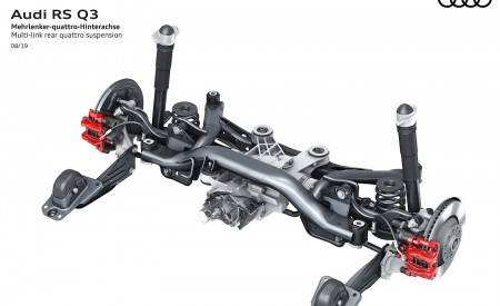 2020 Audi RS Q3 Multi-link rear quattro suspension Wallpapers 450x275 (109)