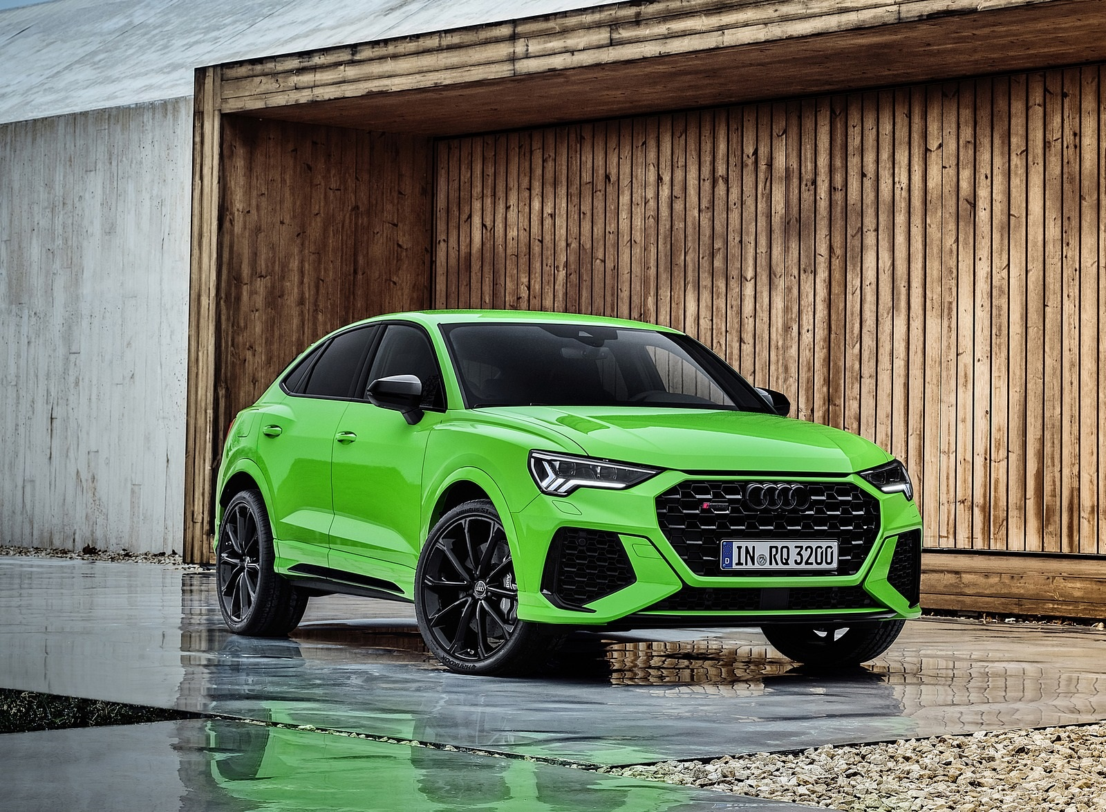 2020 Audi Rs Q3 Sportback Color Kyalami Green Front Three Quarter Wallpapers 81 Newcarcars