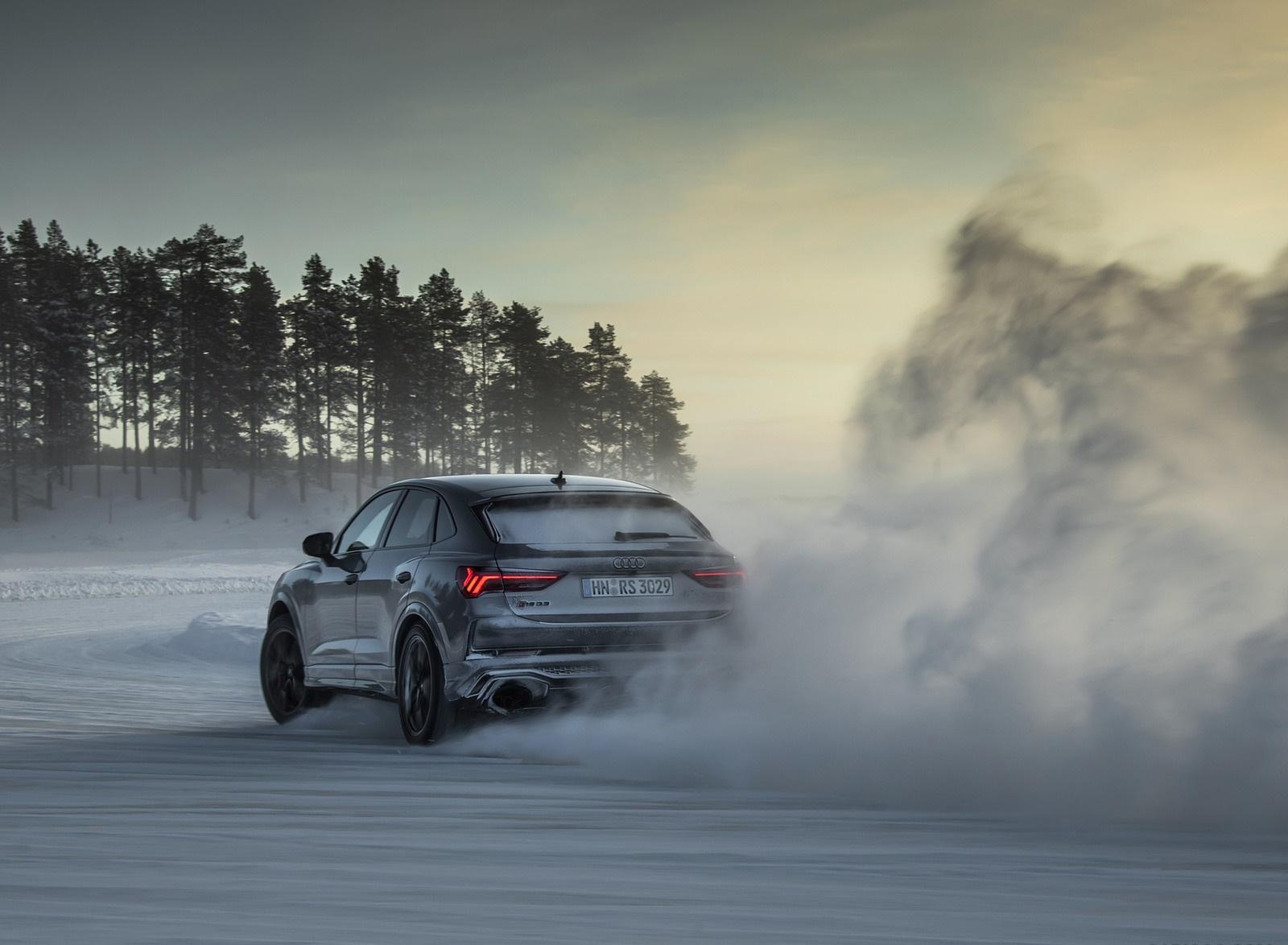 2020 Audi Rs Q3 Sportback Color Nardo Gray Rear Three Quarter Wallpapers 43 Newcarcars
