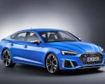 2020 Audi S5 Sportback TDI (Color: Turbo Blue) Front Three-Quarter Wallpapers 150x120 (17)