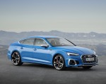 2020 Audi S5 Sportback TDI (Color: Turbo Blue) Front Three-Quarter Wallpapers 150x120 (6)