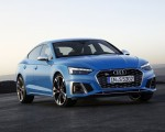2020 Audi S5 Sportback TDI (Color: Turbo Blue) Front Three-Quarter Wallpapers 150x120 (9)