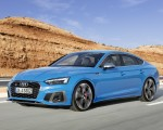 2020 Audi S5 Sportback TDI (Color: Turbo Blue) Front Three-Quarter Wallpapers 150x120 (4)