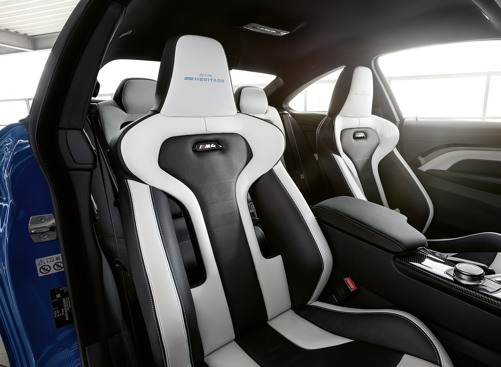 2020 BMW M4 Edition M Heritage Interior Seats Wallpapers (14)