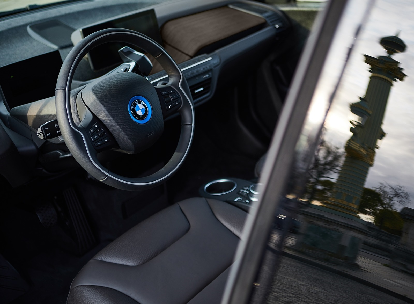 2020 BMW i3s Edition RoadStyle Interior Detail Wallpapers (9)
