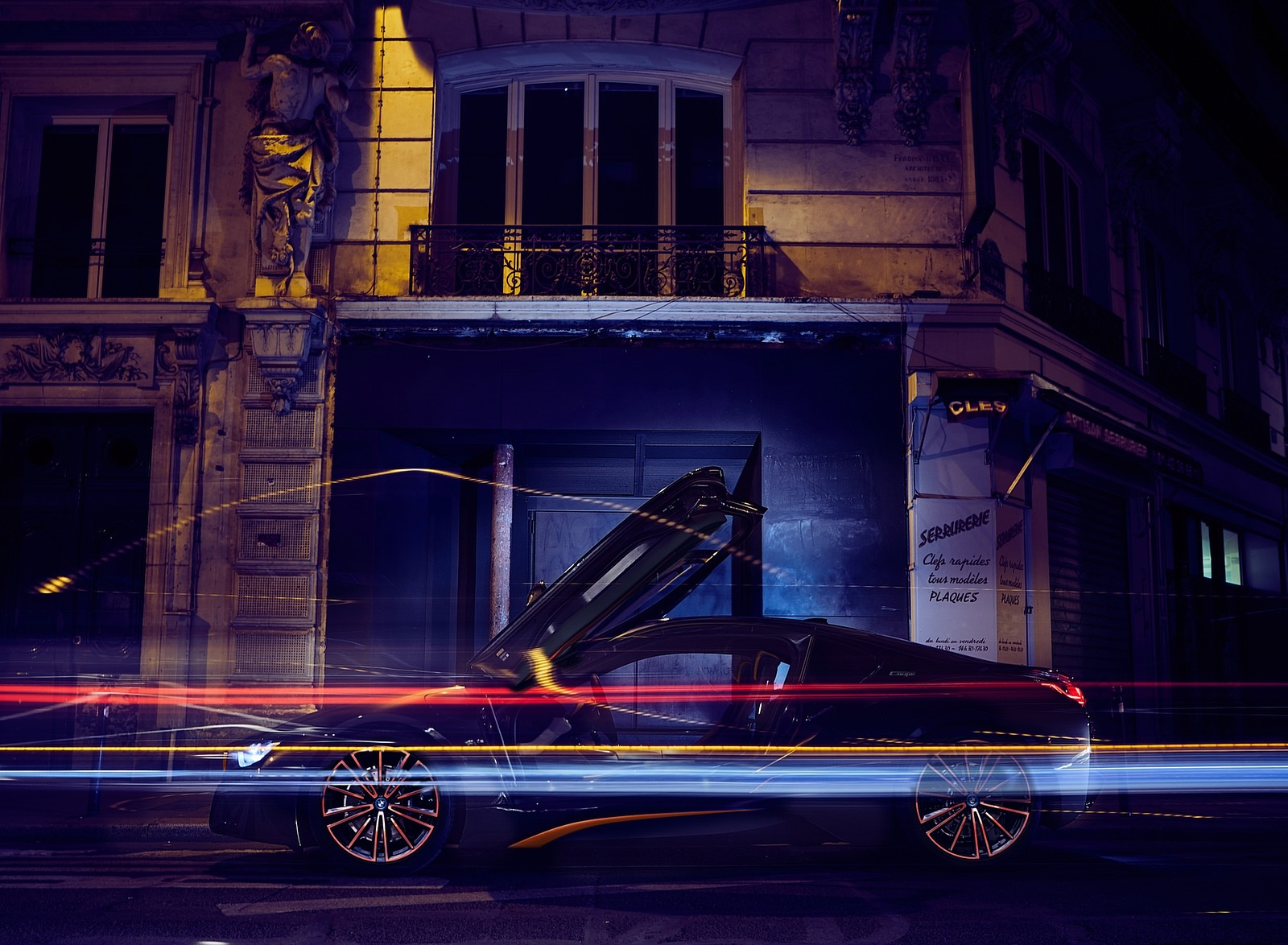 2020 BMW i8 Ultimate Sophisto Edition Side Wallpapers (12)