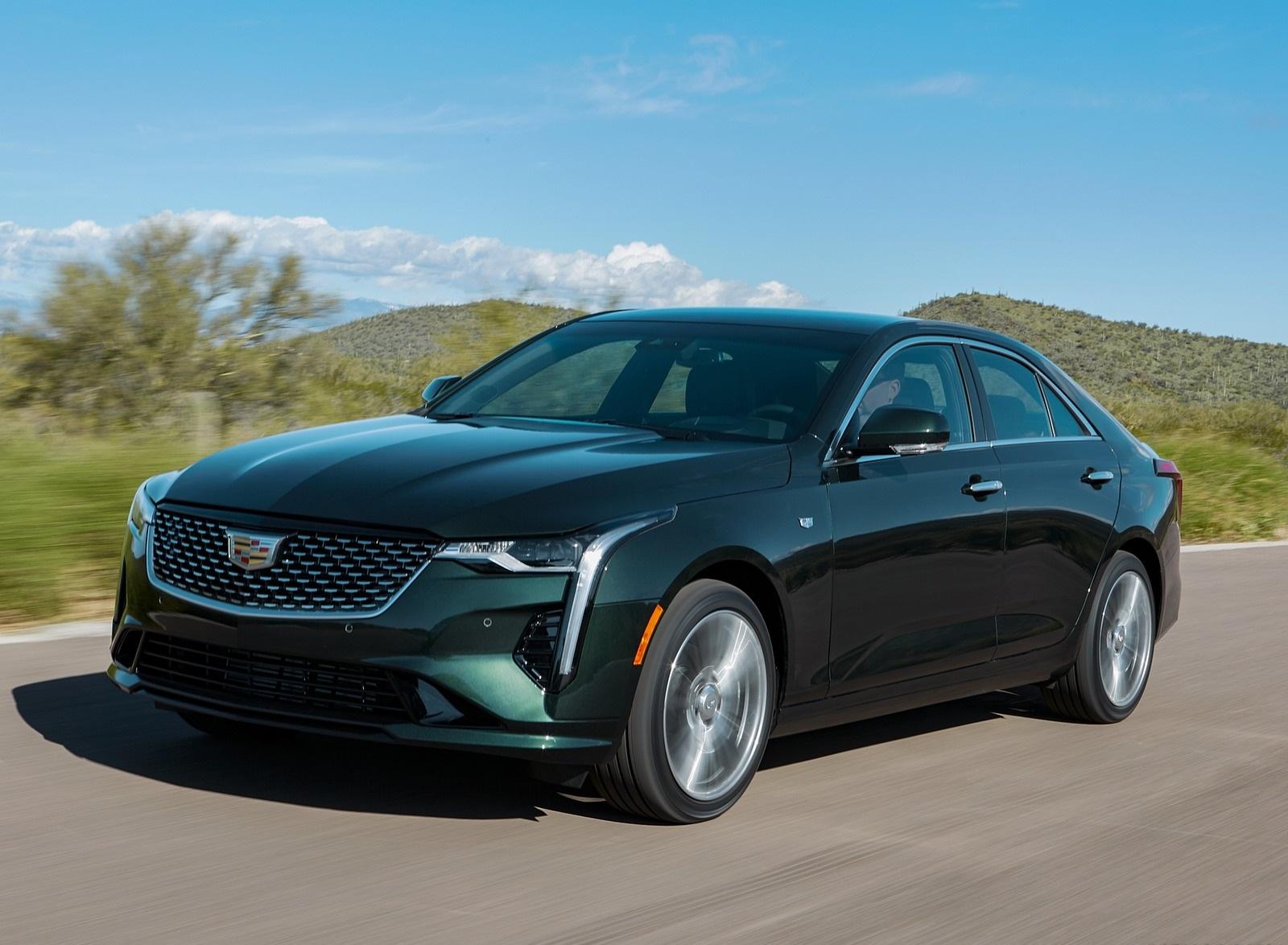 2020 Cadillac CT4 Premium Luxury Front Three-Quarter Wallpapers (1)