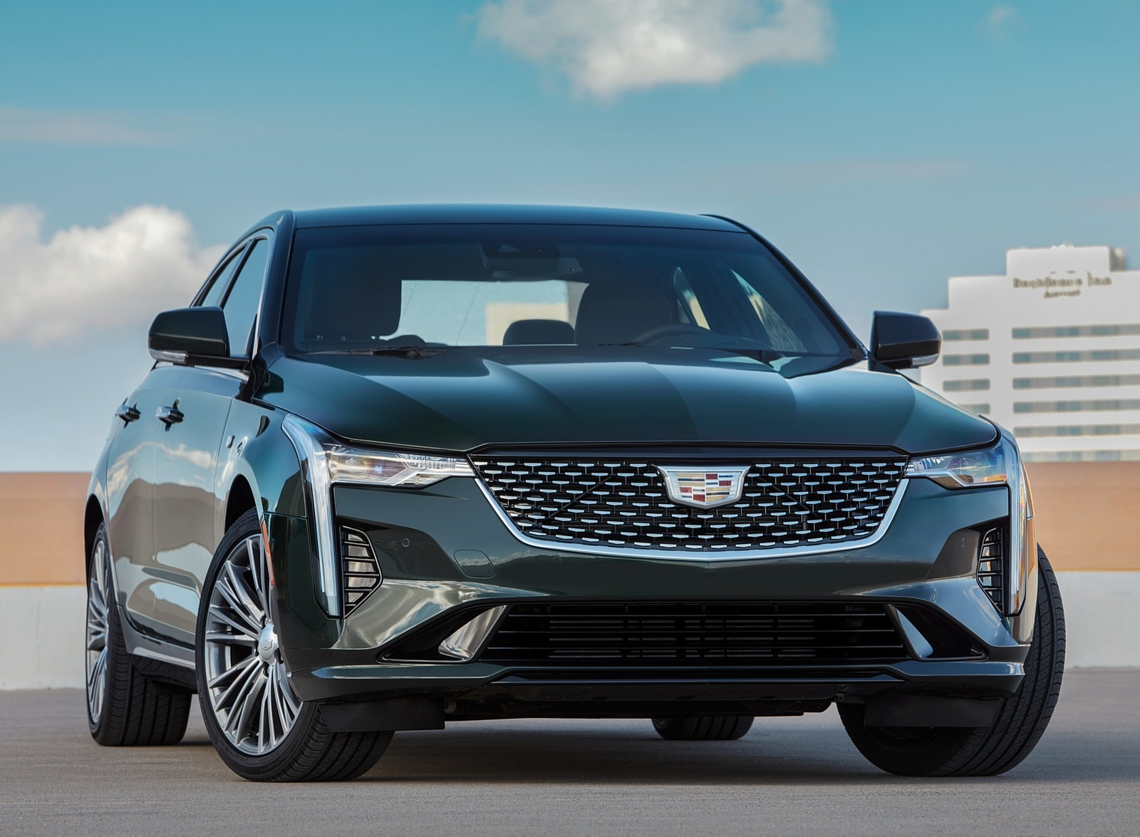 2020 Cadillac CT4 Premium Luxury Front Wallpapers (6)