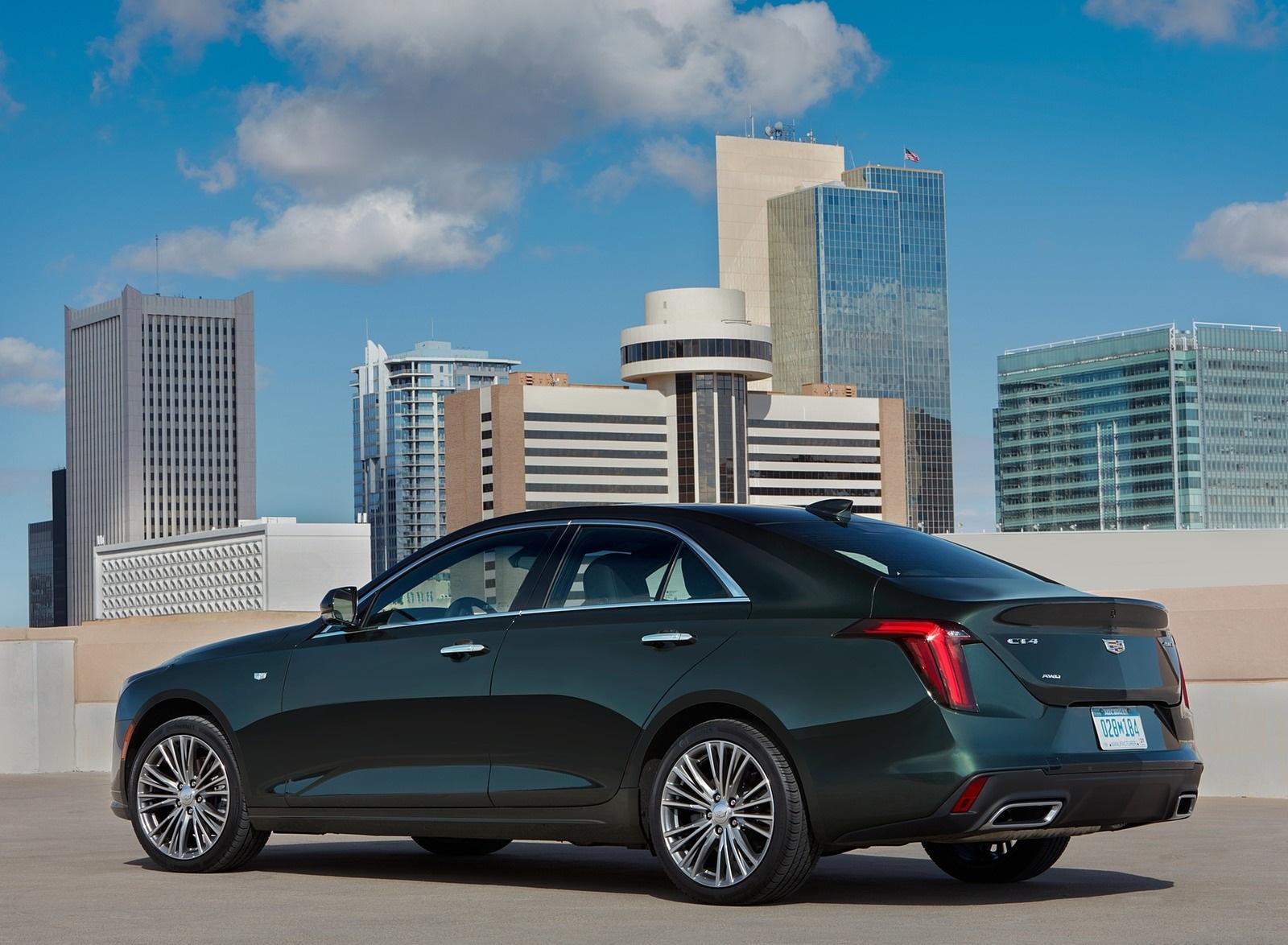 2020 Cadillac CT4 Premium Luxury Rear Three-Quarter Wallpapers (9)