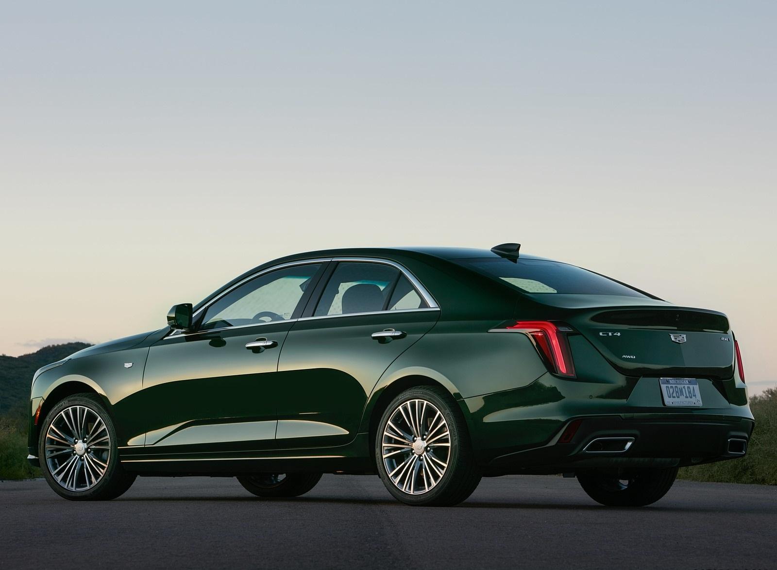 2020 Cadillac CT4 Premium Luxury Rear Three-Quarter Wallpapers (10)