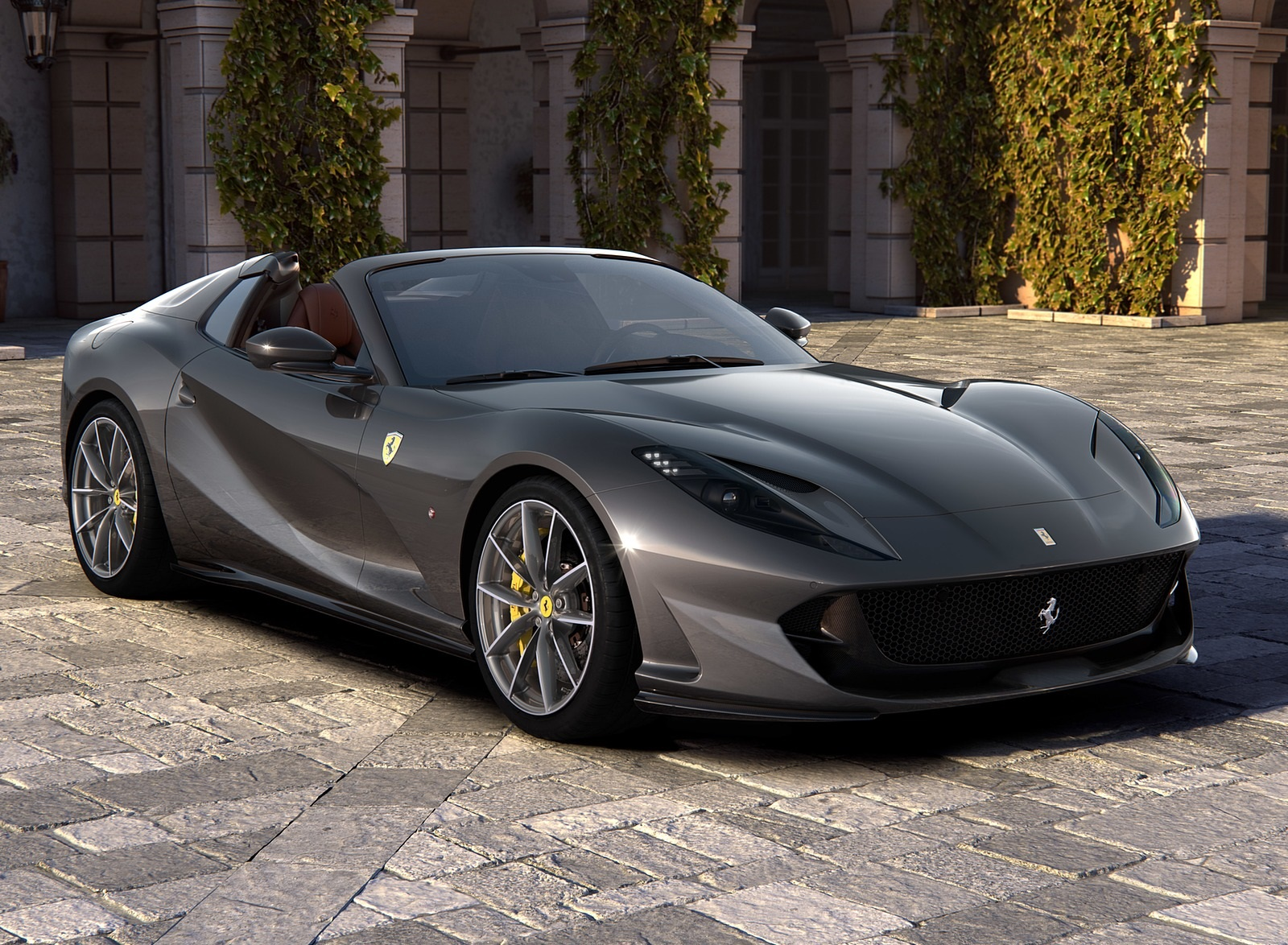 2020 Ferrari 812 GTS Front Three-Quarter Wallpapers (1)