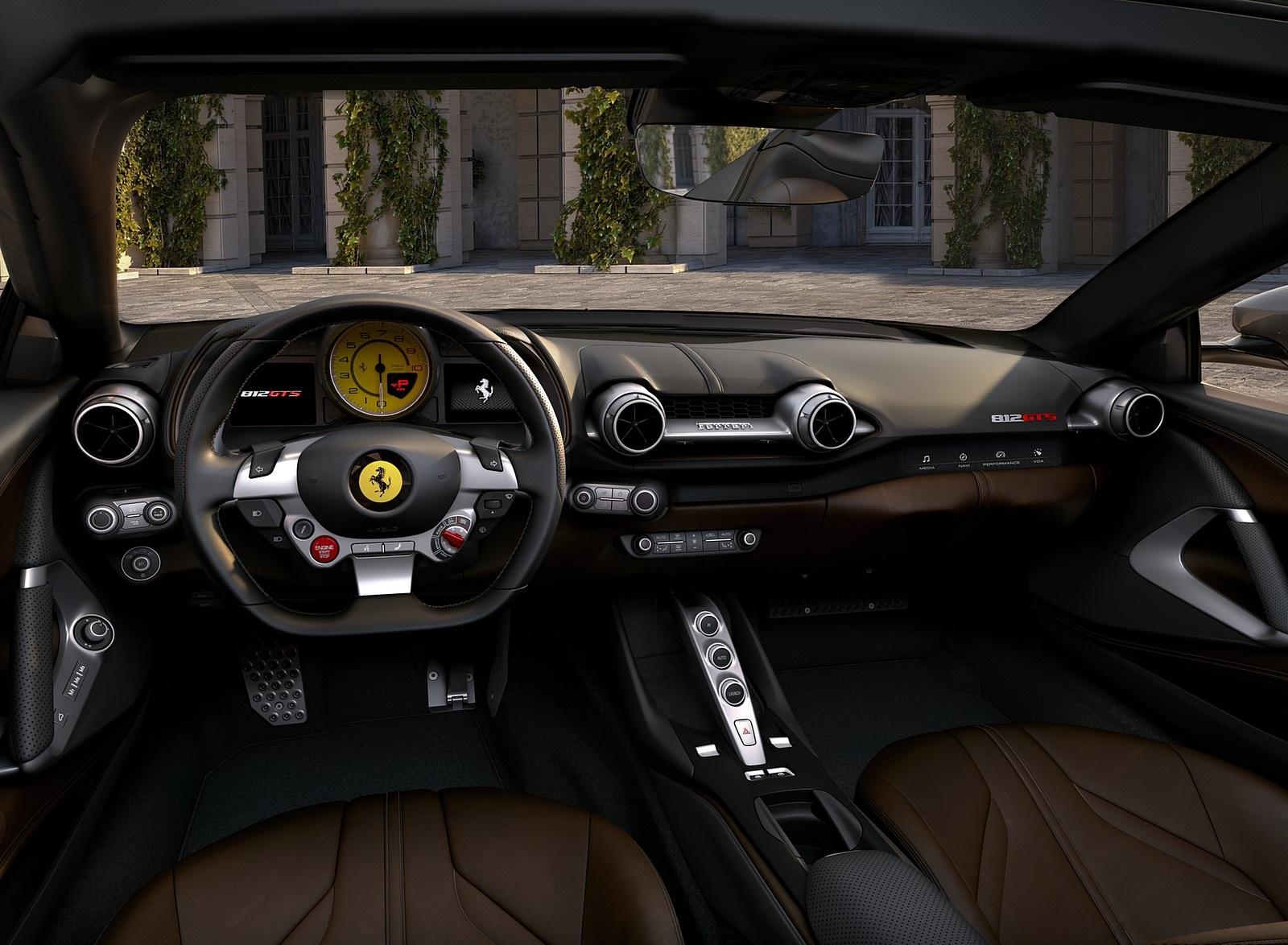 2020 Ferrari 812 GTS Interior Cockpit Wallpapers (6)