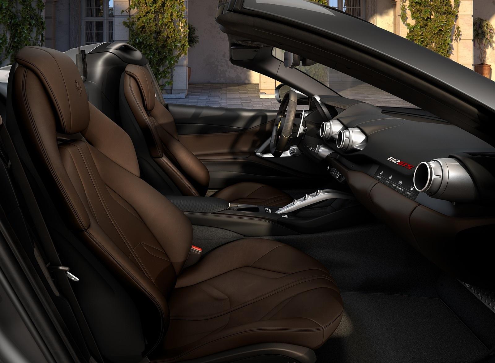 2020 Ferrari 812 GTS Interior Seats Wallpapers (7)