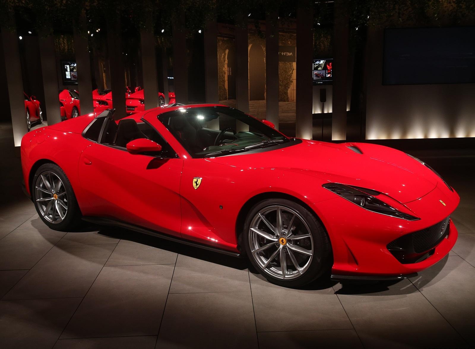 2020 Ferrari 812 GTS Presentation Wallpapers (8)