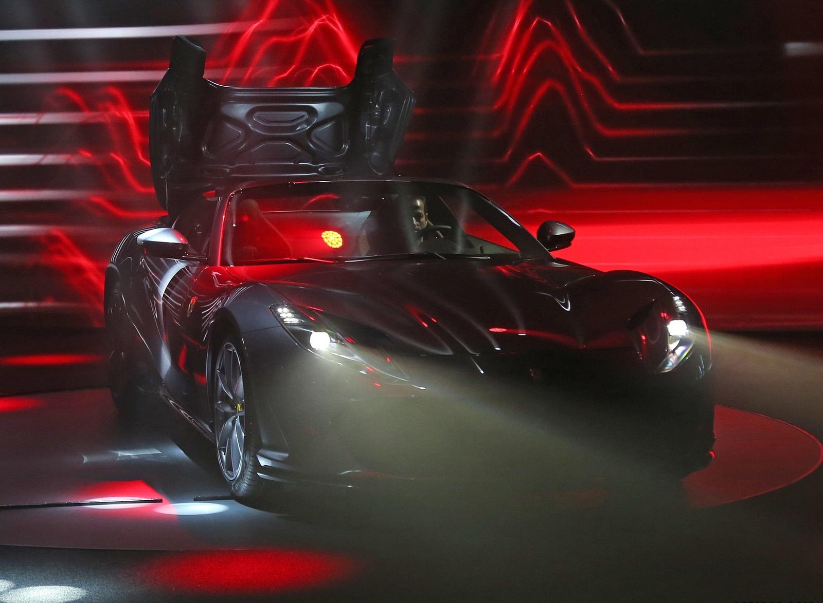 2020 Ferrari 812 GTS Presentation Wallpapers (13)