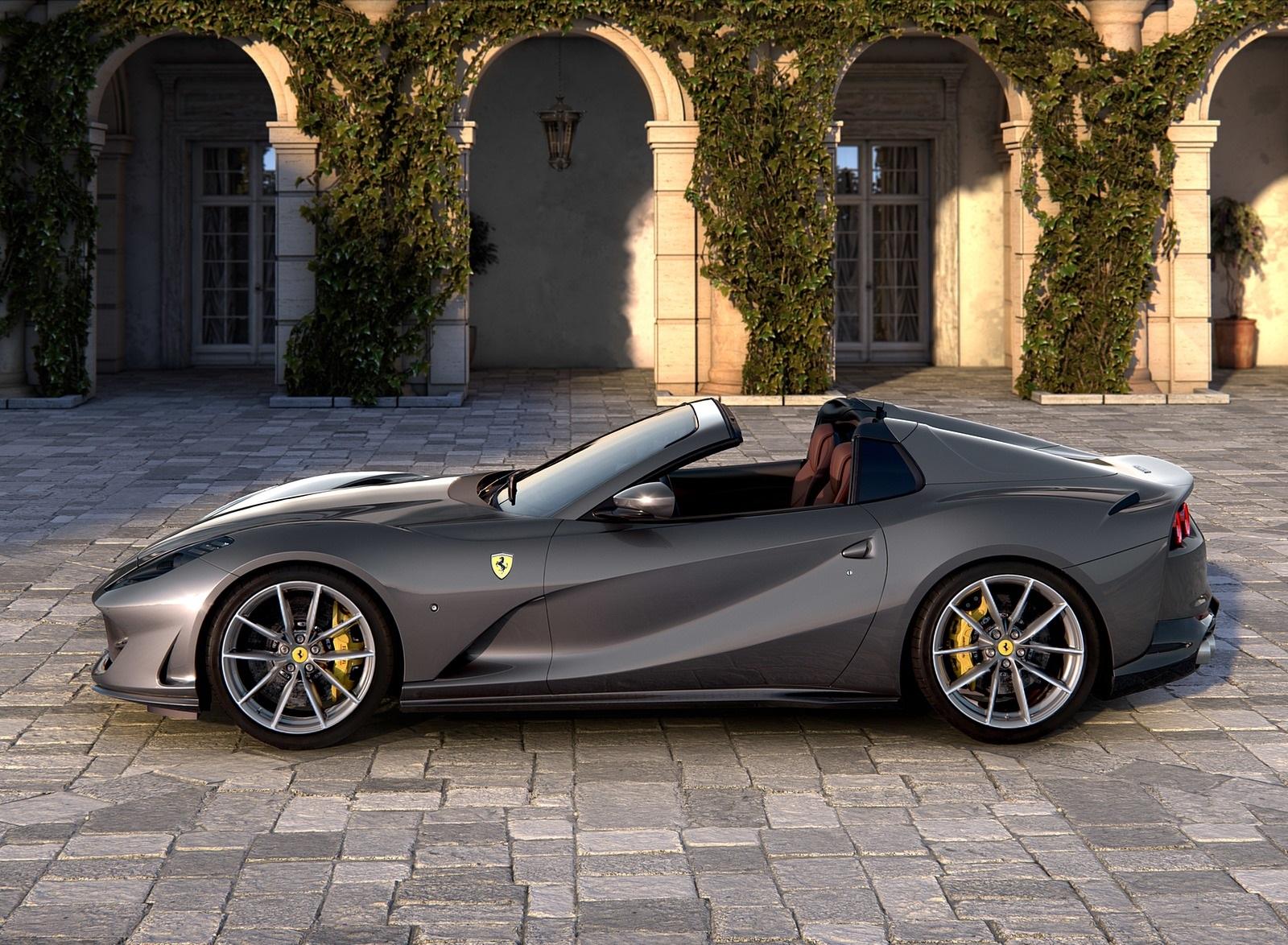 2020 Ferrari 812 GTS Side Wallpapers (3)