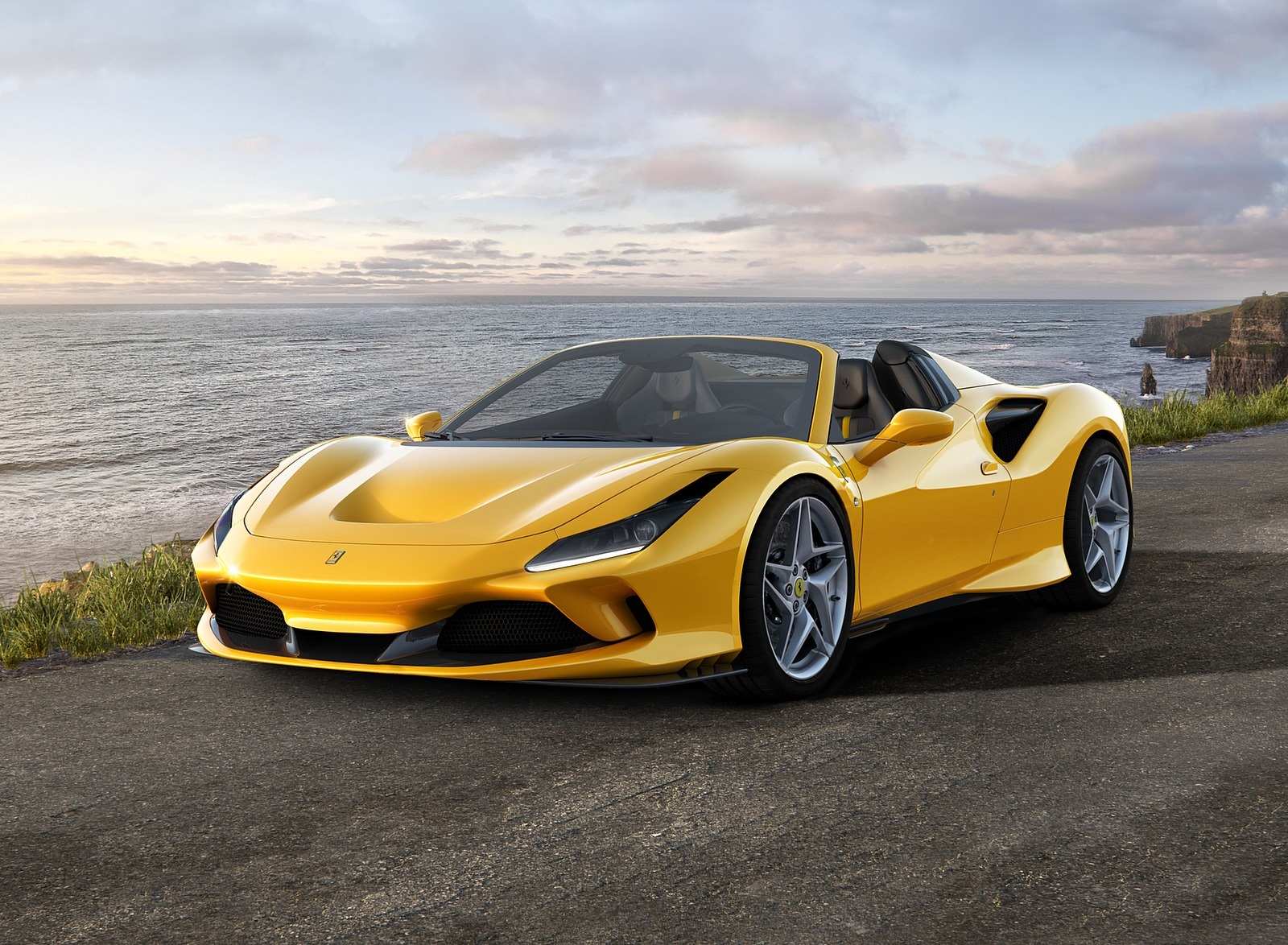 2020 Ferrari F8 Spider Front Three-Quarter Wallpapers (1)