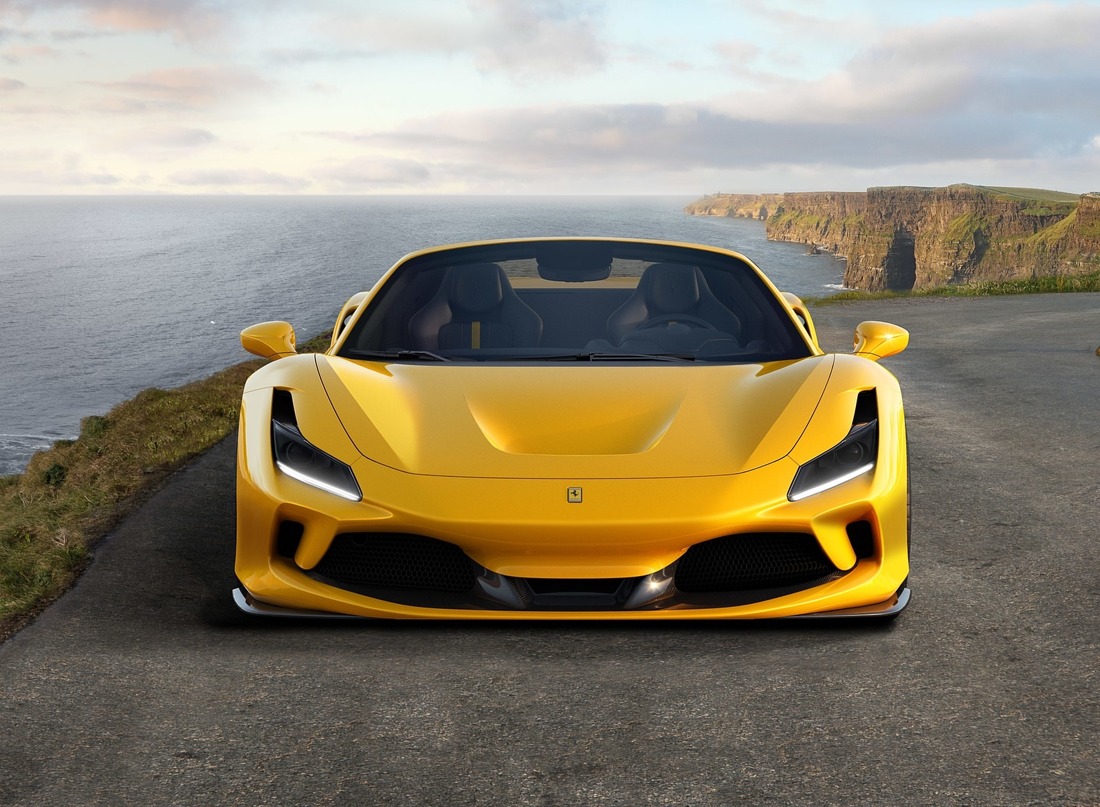 2020 Ferrari F8 Spider Front Wallpapers (3)