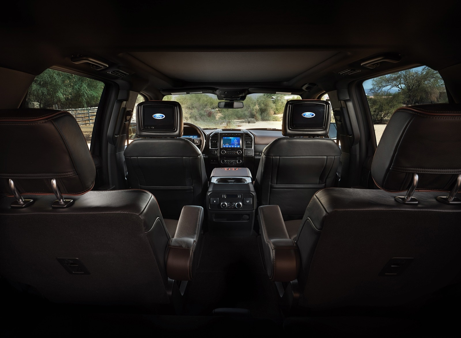 2020 Ford Expedition King Ranch Interior Wallpapers (15)