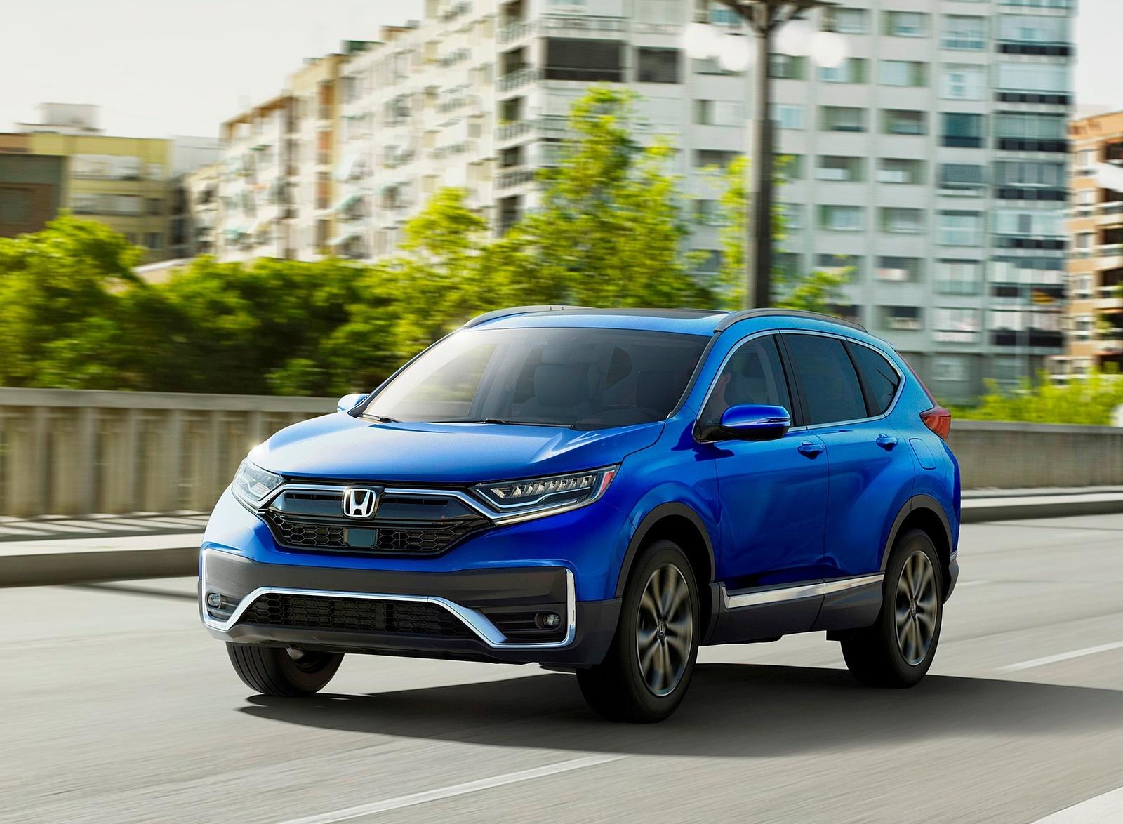 2020 Honda CR-V Front Three-Quarter Wallpapers (2)