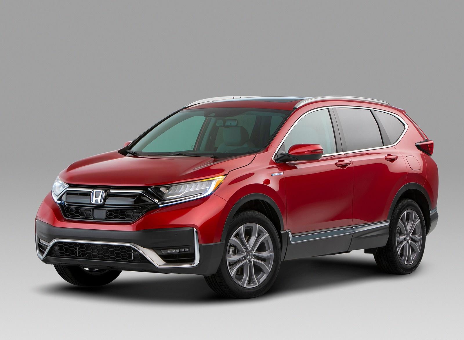 2020 Honda CR-V Hybrid Front Three-Quarter Wallpapers (5)