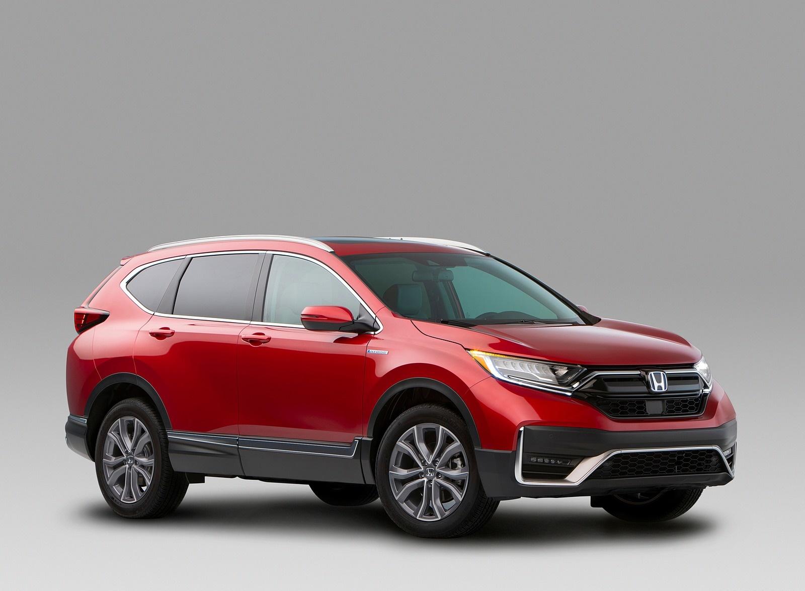 2020 Honda CR-V Hybrid Front Three-Quarter Wallpapers (6)