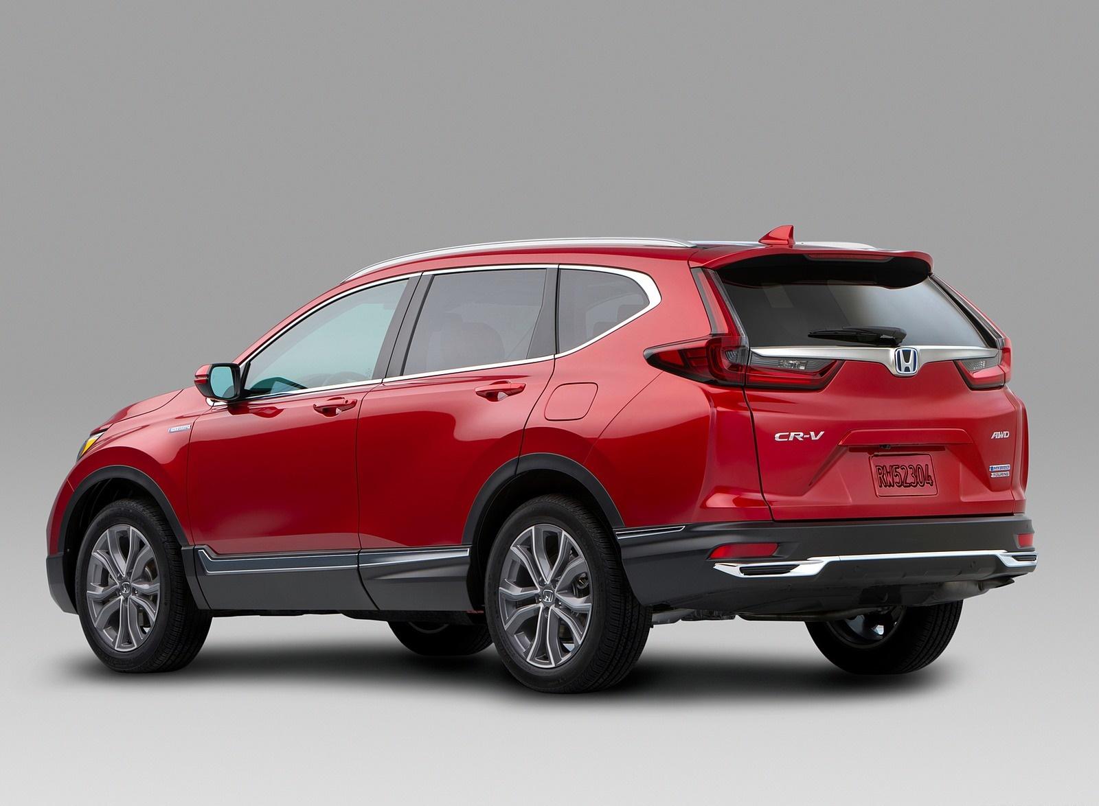 2020 Honda CR-V Hybrid Rear Three-Quarter Wallpapers (7)