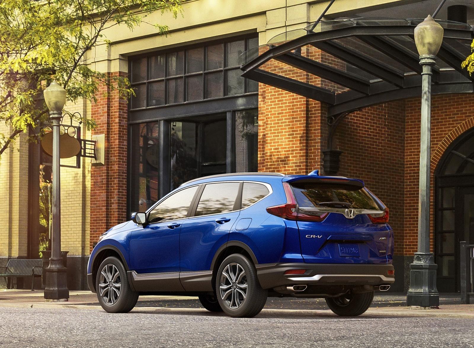 2020 Honda CR-V Rear Three-Quarter Wallpapers (3)