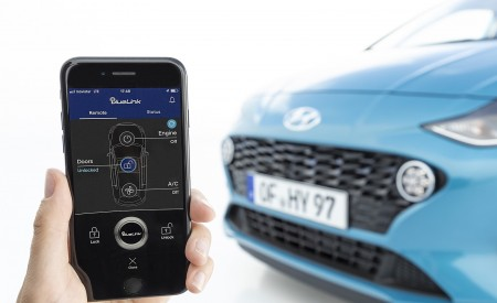 2020 Hyundai i10 Bluelink Wallpapers 450x275 (80)