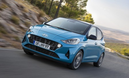 2020 Hyundai i10 Front Three-Quarter Wallpapers 450x275 (47)