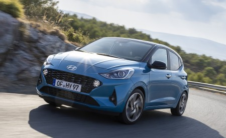 2020 Hyundai i10 Front Three-Quarter Wallpapers 450x275 (50)