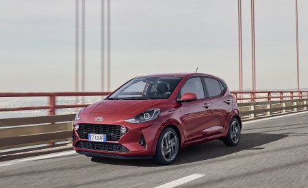 2020 Hyundai i10 Front Three-Quarter Wallpapers 450x275 (19)