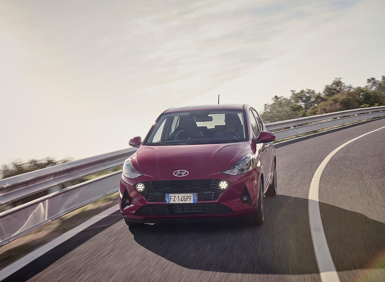2020 Hyundai i10 Front Wallpapers (1)