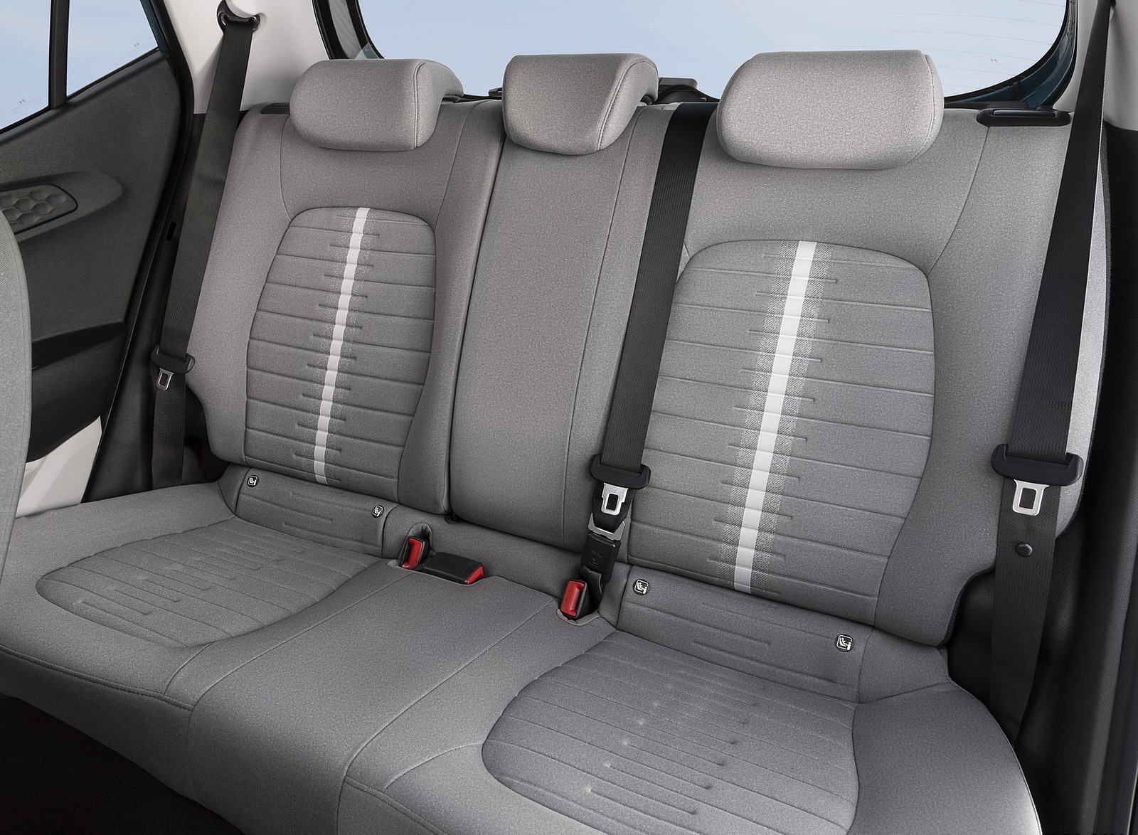 2020 Hyundai i10 Interior Rear Seats Wallpapers #73 of 80
