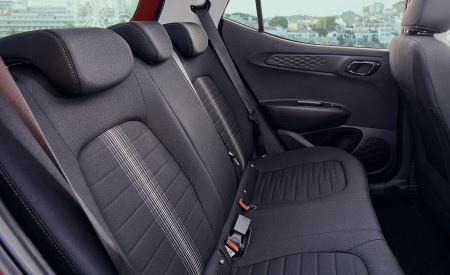 2020 Hyundai i10 Interior Rear Seats Wallpapers 450x275 (42)